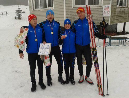 I. kola Slovenského pohára v behu na lyžiach na Králikoch (6.1.2018)