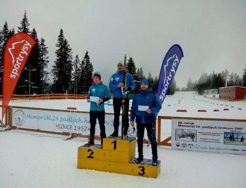 I. a II. kolo Slovenského pohára v behu na lyžiach 2018/19