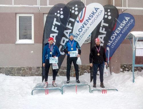 M-SR v behu na lyžiach, Skalka, 13.1.2019